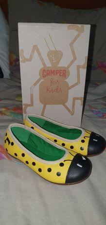Новые туфли балетки мокасины кожа Camper