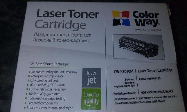 продам тонер-картридж для принтера CW-X3010M новый
