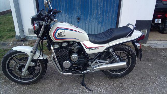 motocykl Honda Cbx 650e