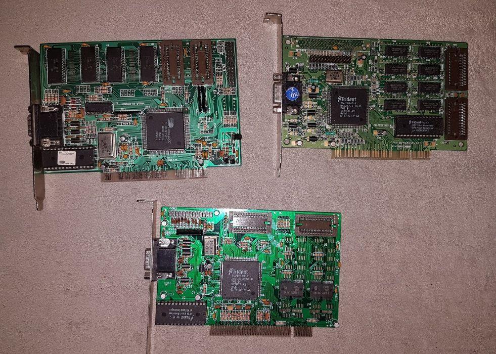 Retro karta graficzna do starego komputera PCI/AGP Poznań - image 1