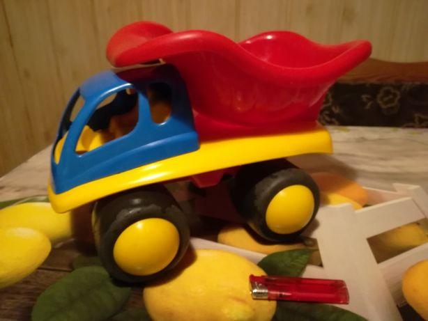 Ciężarówka wywrotka dla chłopca zabawka do piaskownicy
