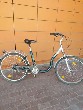 Rower Ariston  Łabędź  26 cali damka miejska jak nowy