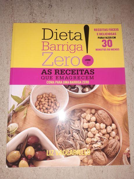 Coleção de 6 livros  Dieta Barriga Zero!