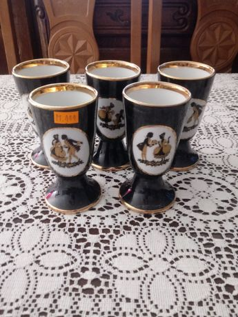 Pucharki porcelanowe (M.111) - Porcelaine du Berry France