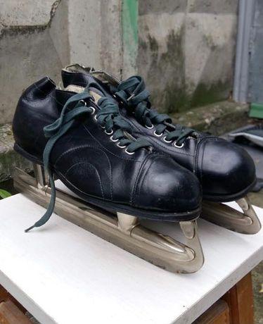 Коньки хоккейные, мужские, СССР