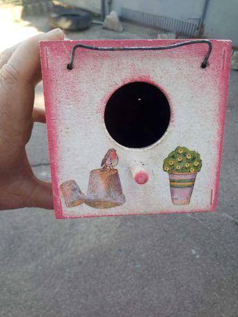 Продам очень красивое фанерное гнездо для амадин бу