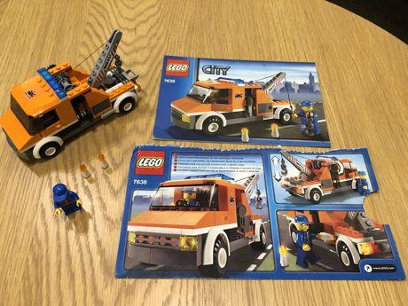 Lego City 7638 Samochód pomocy drogowej Kompletny Super stan Prezent