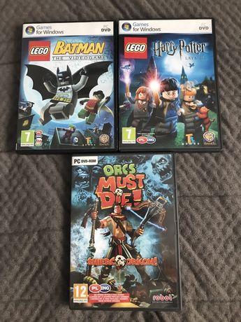 Gry PC lego harry potter lego batman orcs must die