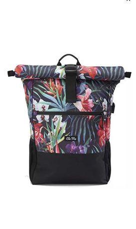 Plecak- torba w kwiaty Ela Mo
