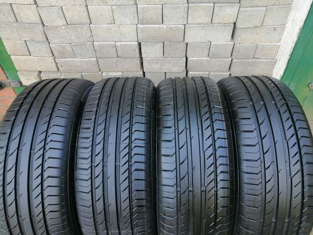 4x 235/50 R19 99V Continental ContiSportContact5 jak Nowe