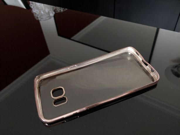 Capa rosa para Samsung S7 edge