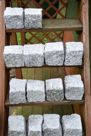 kostka granitowa 6x4 cm jednostronnie cięta