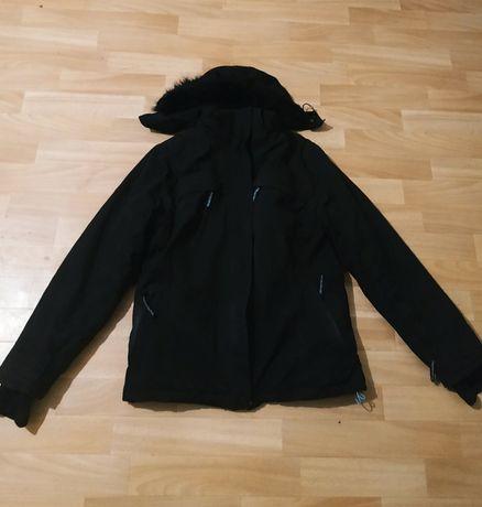 Теплая куртка пуховик для подростка мальчика зима