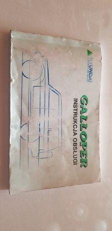 Hyundai Galloper instrukcja Obsługi, Bestseller!  Pdf dwie dychy