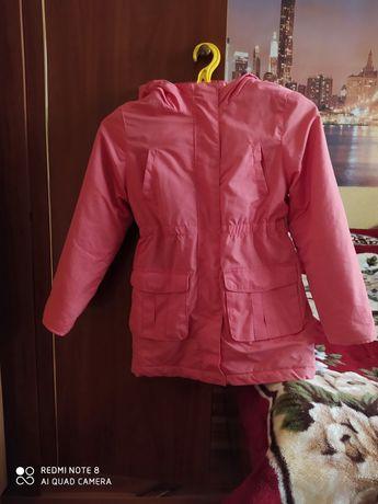 Куртка-парка осіння,для дівчинки 8-9 років.