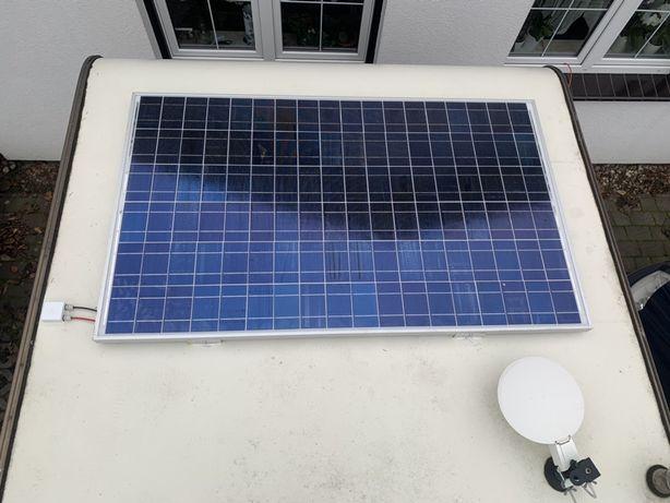 Montaż - Solar Panel Sloneczny Fotowoltakia - Kamper - Przyczepa