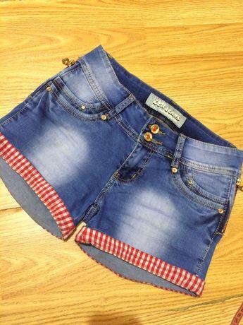 Джинсовые шорты 27 размер