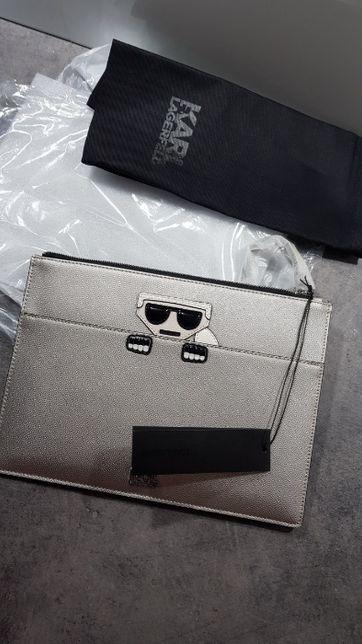 Oryginalna kopertówka Karl Lagerfeld