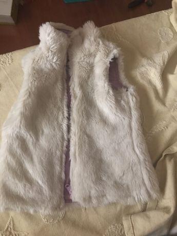 Colete reversível Gap e casaco girandola, 5 anos
