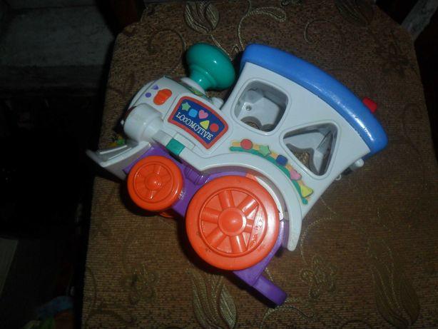 Детский паравозик для ребенка хороший..