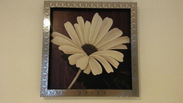 Obraz w ramie kwiat