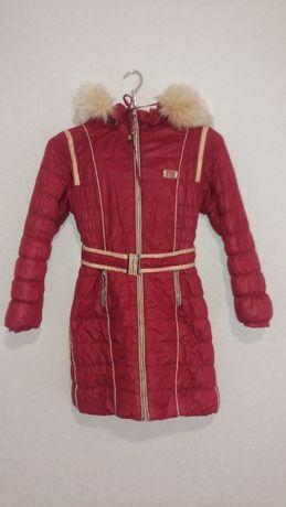 Пуховик детский теплый на зиму для девочки