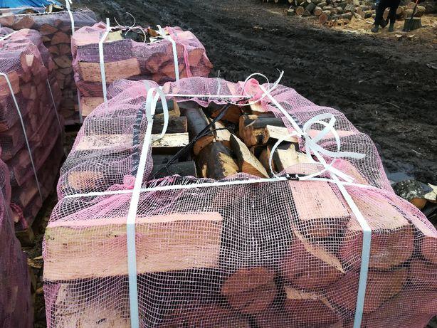 Drewno kominkowe i opałowe paletowane