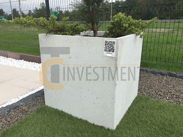 Donica Cinquanta 50x50x50 Donice betonowe ogrodowe - Duży wybór donic