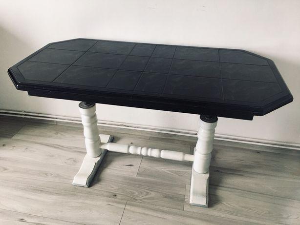 Stół Ława Drewniana salonowa rozkładana regulacja wysokosci