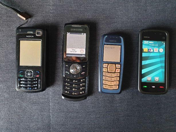 telefony Nokia i Samsung