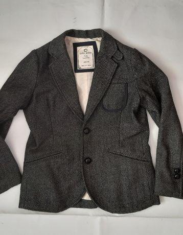 Стильний нарядний пиджак на мальчика Zara 118 см. 5-6 лет