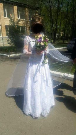 Платье свадибное
