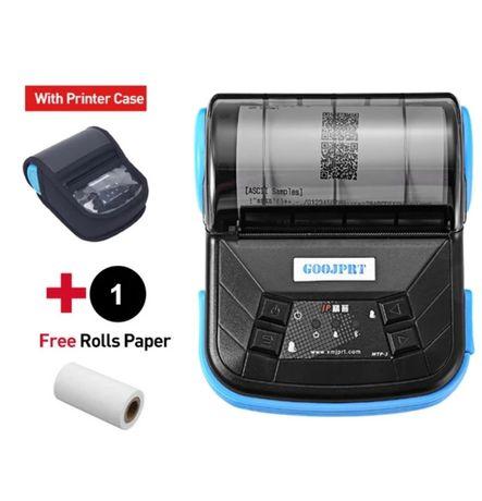 Impressora Térmica Recibos 80mm Portátil C/ Bluetooth + BOLSA OFERTA