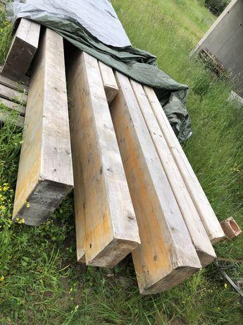 Drewno klejone belki