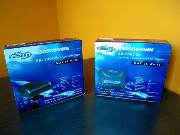 Автомобильный Усилитель 6 каналов 5+1 BM Boschmann MB-100CSK+колонка
