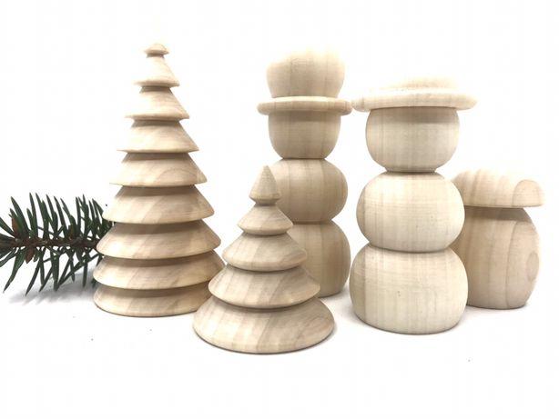 Заготовки фігурок дерев'яні,новорічні іграшки
