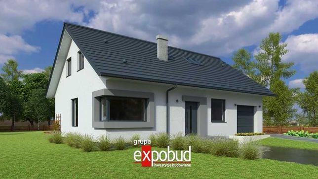 Trwały i ciepły dom w 2 miesiące na działce klienta, projekt MP5G.