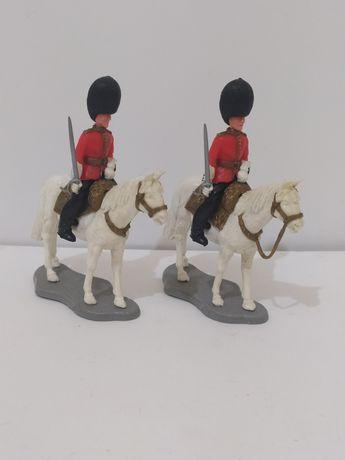 Lote bonecos Timpo Toys Guardas Reais a Cavalo