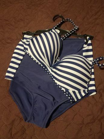 Kostium kąpielowy bikini MONTEEN rozm. 38 S/M długie majtki