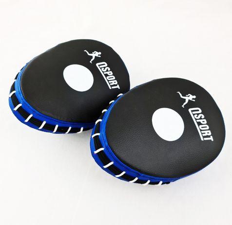 Лапы боксерские гнутые-прямые для бокса/кикбоксинга/каратэ/карате 2шт
