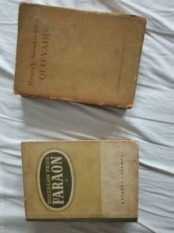 2 książki Quo vadis Fareon