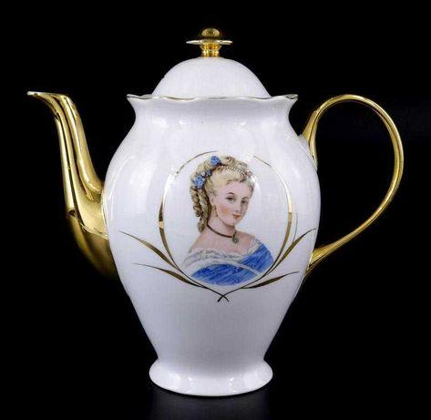 VISTA ALEGRE - Bule de Porcelana