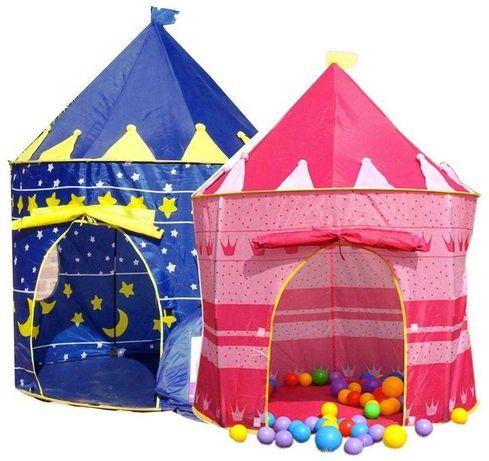 Подарочный Игровий домик для ребёнка Шатер замок 2 цвета