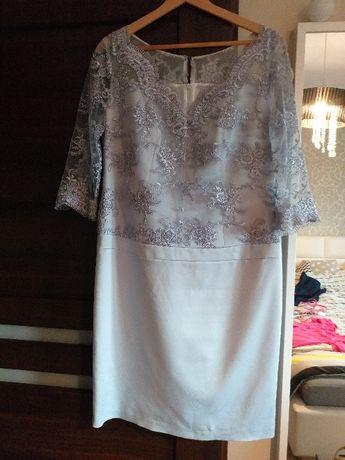 Sukienka z koronką 42