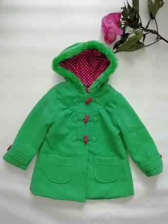 Модное пальтишко для девочки George 3-4лет