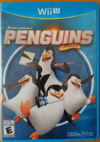 "WII Płyta ""Pingwiny z Madagaskaru"" Gra z USA"