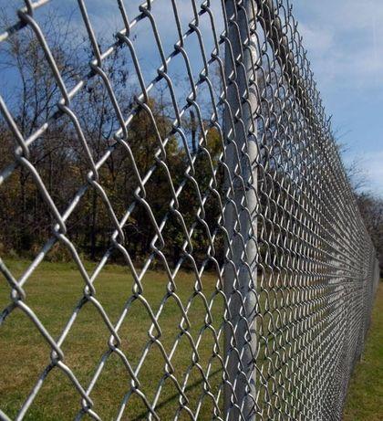 Siatka ogrodzeniowa ocynkowana oczko 50 x 50 wysokość 150 cm fi 3,0mm