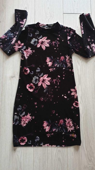 Sukienka welurowa r.146 Gniezno - image 1