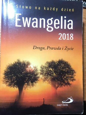 Ewangelia 2018 - kościół katolicki, edycja świętego pawła, biblia