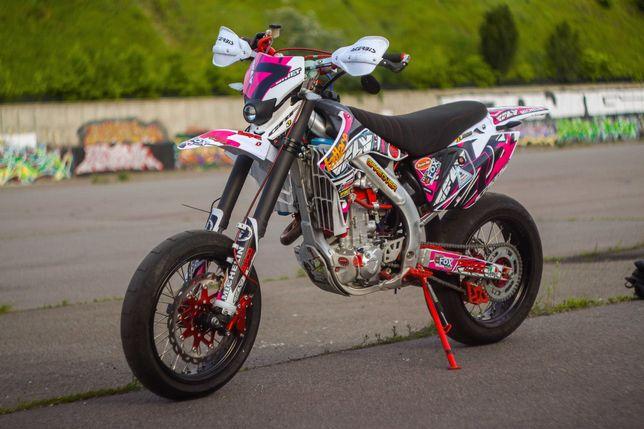 Лучше чем Honda crf 450. Geon Dakar 450 2018г